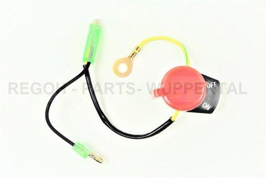 Stopschalter Ein/Aus Schalter mit drei Kabel passend Honda