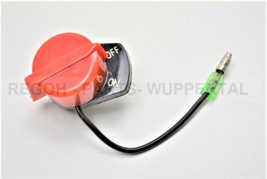Stopschalter Ein/Aus Schalter ein Kabel passend Loncin G200 F (F/D)