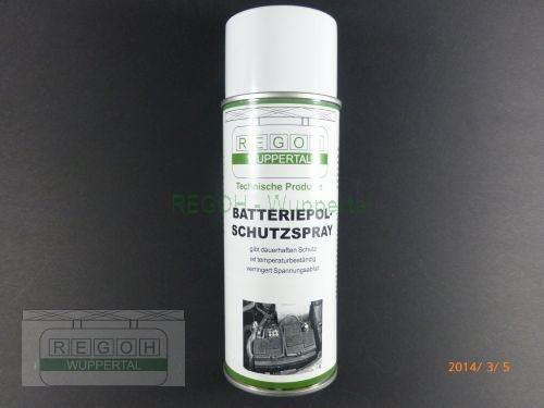 Batterie Spray Polschutzspray Oxydationsschutzspray 400ml Dose