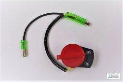 Stopschalter Ein/Aus Schalter zwei Kabel passend Honda GX270