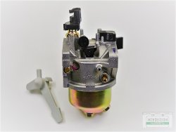 Vergaser passend Loncin G270 F, G270 F/D mit Primer Pumpen Anschluß
