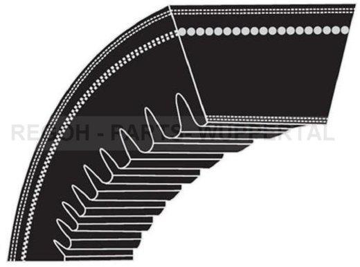 Keilriemen Antriebsriemen Keilrippenriemen 17x1750 Li