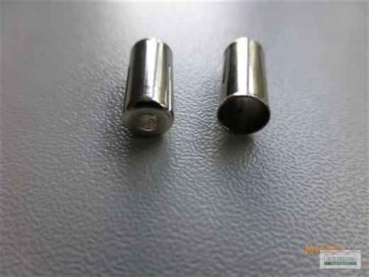 10 Stück Endkappe für Aussenhülle 5,6 mm Loch 2,5 mm